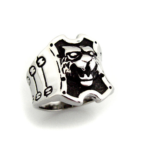 Stainless Steel Ring (18x22mm) 81-716