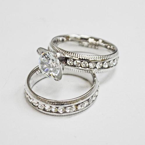 WEDDING SET RING (5x7mm) 81-1300