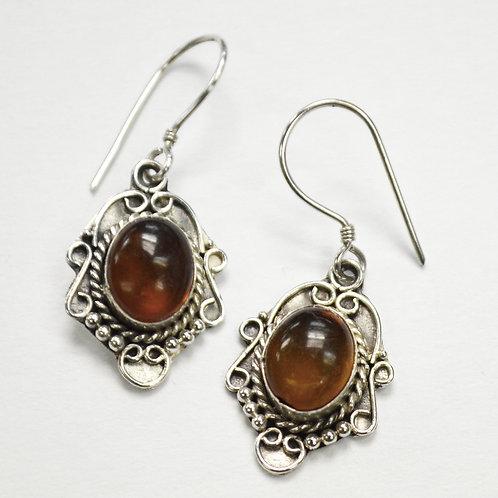 Amber Stone Dangling Earring 534087