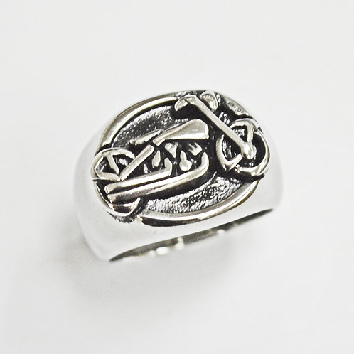 MOTORCYCLE RING (17x20mm) 81-1224