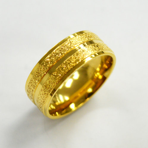 Gold IP Plated RING 81-928G