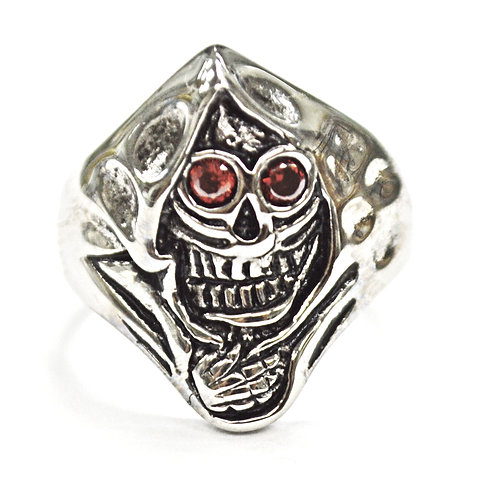 GRIM REAPER WITH RED EYE RING 81-1168