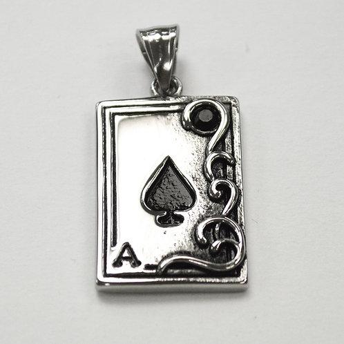 Ace of Spade Pendant 86-2310