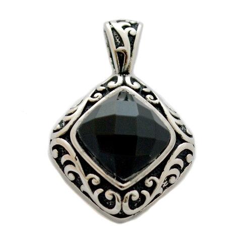 Black Stone Pendant