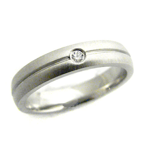 STAINLESS STEEL RING (4mm) 81-664