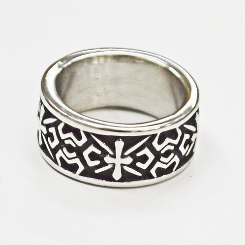 CROSS STAINLESS RING  81-1059