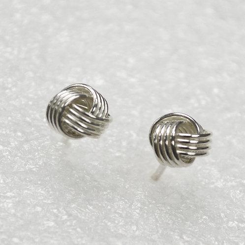 Knot Stud Earring 535184-F
