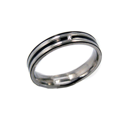 STAINLESS STEEL RING (4mm) 81-353