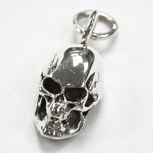 Skull Head Pendant Sterling Silver 561026