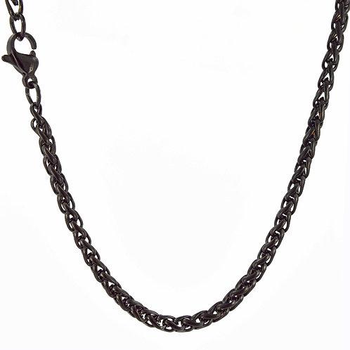 3m Black Spiga Chain