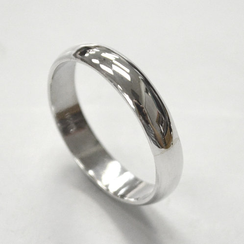 5mm Plain Band Ring Sterling Silver