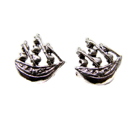 Pirate Ship Stud Earring