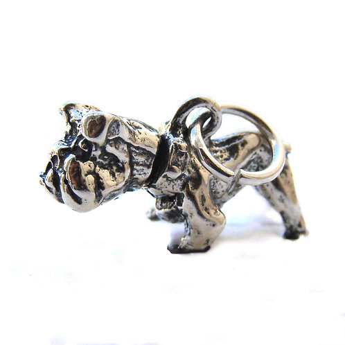 Dog Pendant Sterling Silver 561004