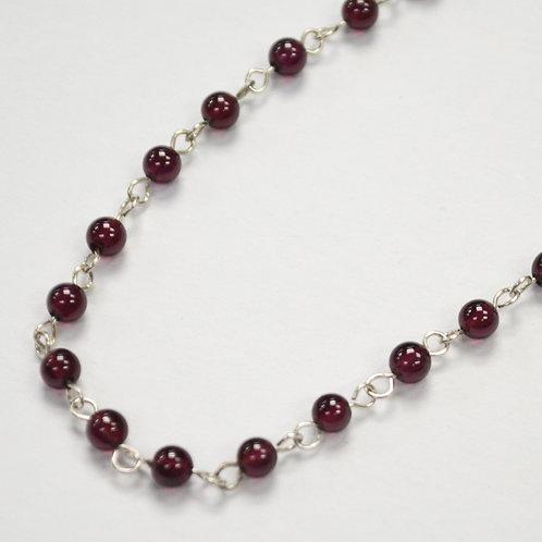 Garnet Bead Necklace 542056
