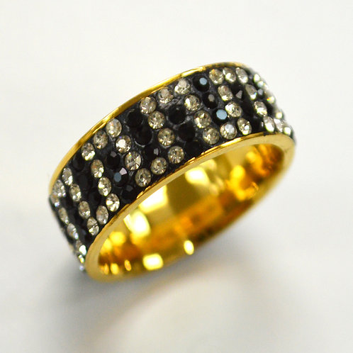 Stone Stainless Steel Ring 81-1383