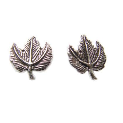 Maple Leaf Stud Earring Sterling Silver 535032