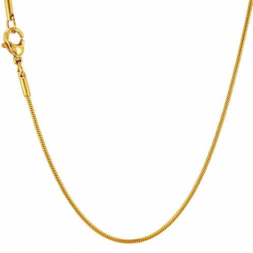 1.2m Gold Snake