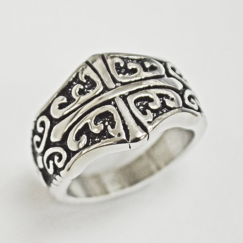 STAINLESS STEEL RING (16mm) 81-1251