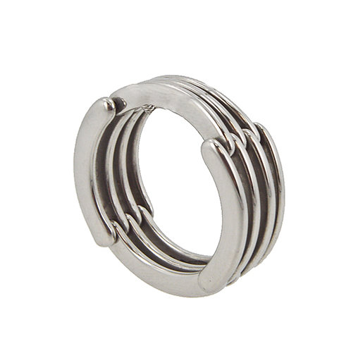 STAINLESS STEEL RING (7x9mm) 81-898