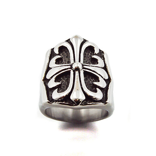 STAINLESS STEEL RING (25x30mm) 81-904