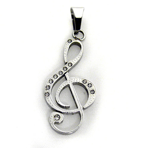 G CLEF NOTE Pendant 86-1598S
