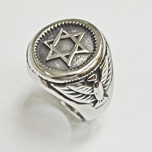 JEWISH STAR RING 81-1311