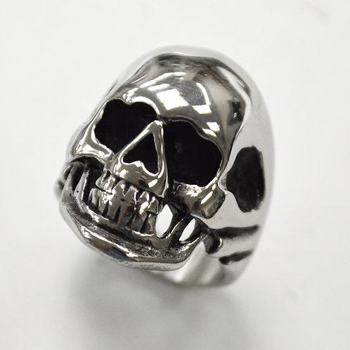 SKULL HEAD RING (21x29mm) 81-504S