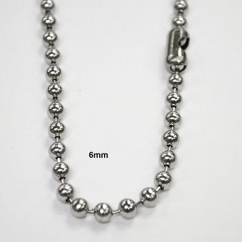 6m Bead Stainless Steel