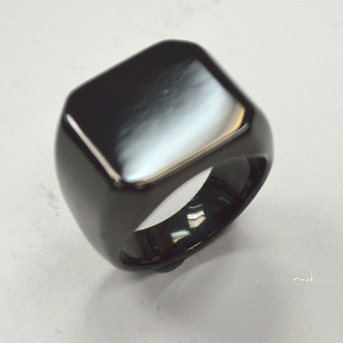 SIGNET RINGS Black Plated  81-820B
