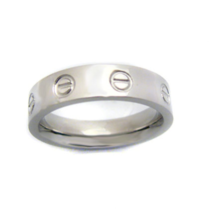 STAINLESS STEEL RING (4mm) 81-431