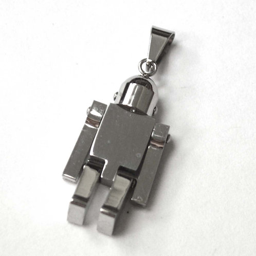Movable Robot Stainless Steel Pendant 86-2271S
