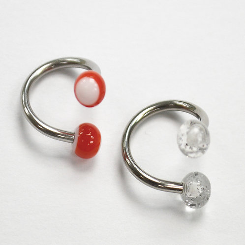Spiral Belly Ring (2 pcs @ $0.51 each)