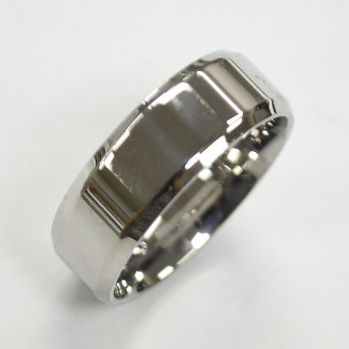 Flat Shiny Finished Bevel Ring 81-1353-8