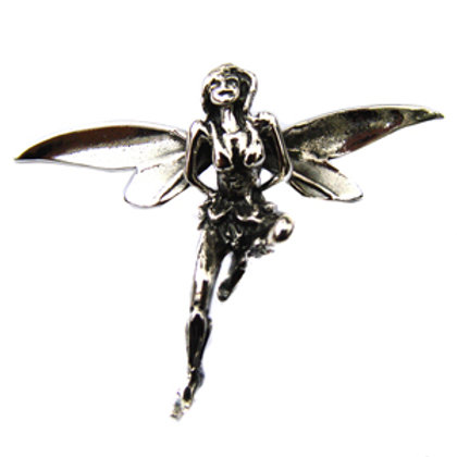 Fairy Pendant Sterling Silver 561039