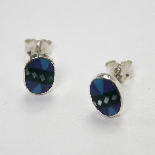 Stud Earring Sterling Silver 535272