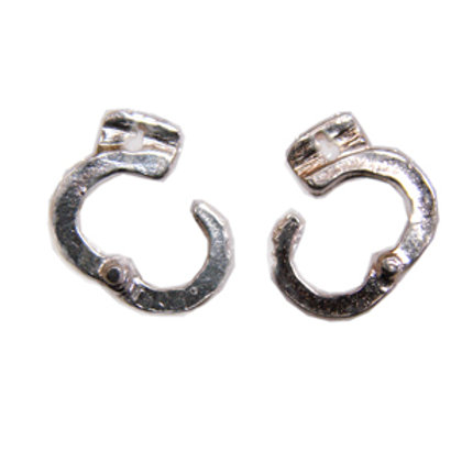 Hand Cuff Stud Earring