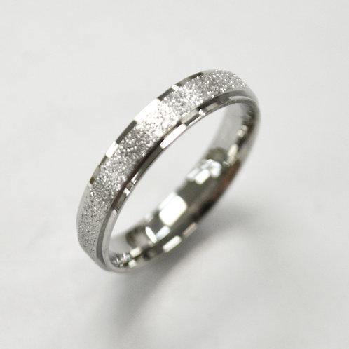 Glitter  Stainless Steel Ring 81-1352S-4
