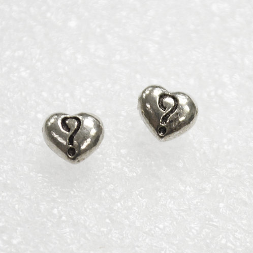 Heart Stud Earring Sterling Silver 531124
