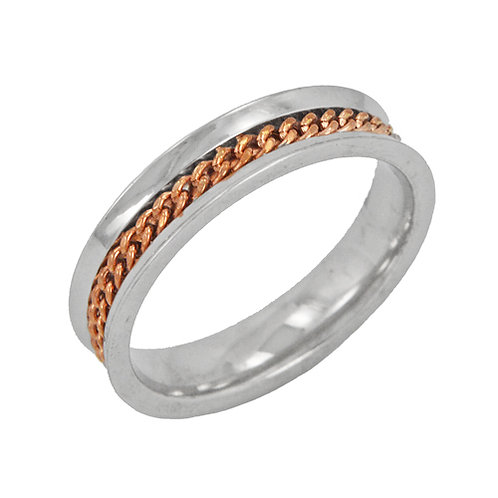 Rose Gold Center Ring (4mm) 81-592