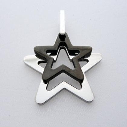 Stars Pendant (34x34mm) 86-245