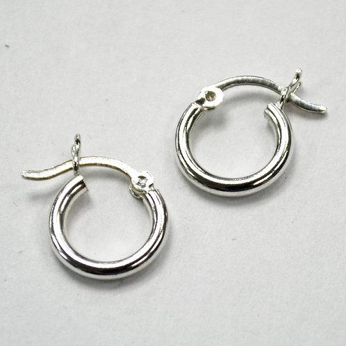 Hoop Sterling Silver Earrings 532003