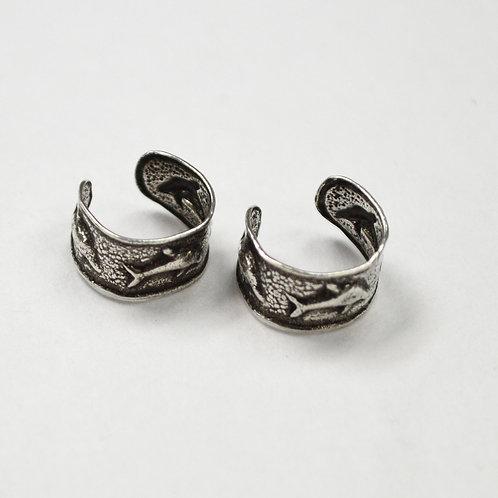 Dolphin Earcuff Sterling Silver 545111