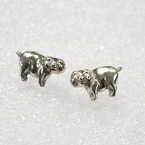 Pig Stud Earring Sterling Silver 535213