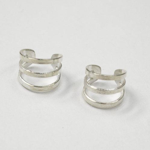 3 Line Earcuff Sterling Silver 545101