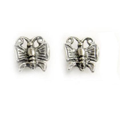 Butterfly Stud Earring Sterling Silver 535063