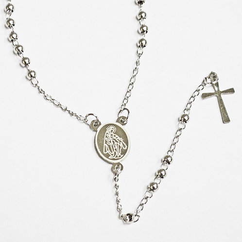 3MM STAINLESS STEEL ROSARY