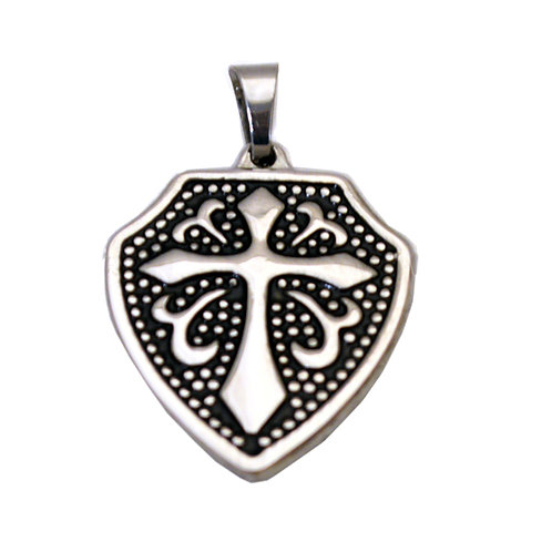 Cross Shield Pendant 86-1967