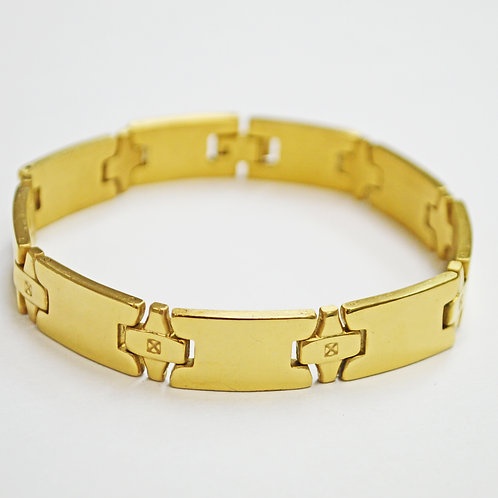 GOLD IP PLATED BRACELETS