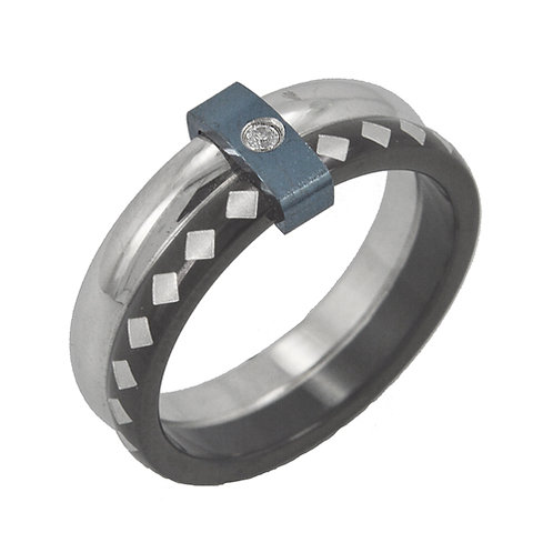 STAINLESS STEEL RING (6mm) 81-271