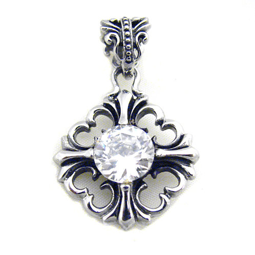 Stainless Steel Pendant (25x27mm) 86-736